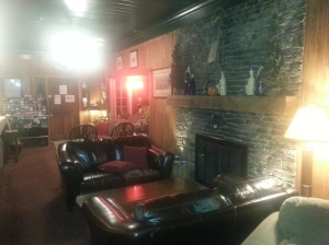 Lobby of the Ligoneir Country Inn