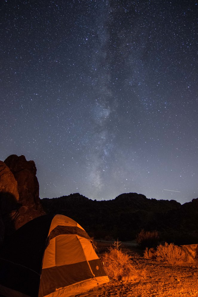 camp camping tent camping Milky Way galaxy stars starry sky night mountains California
