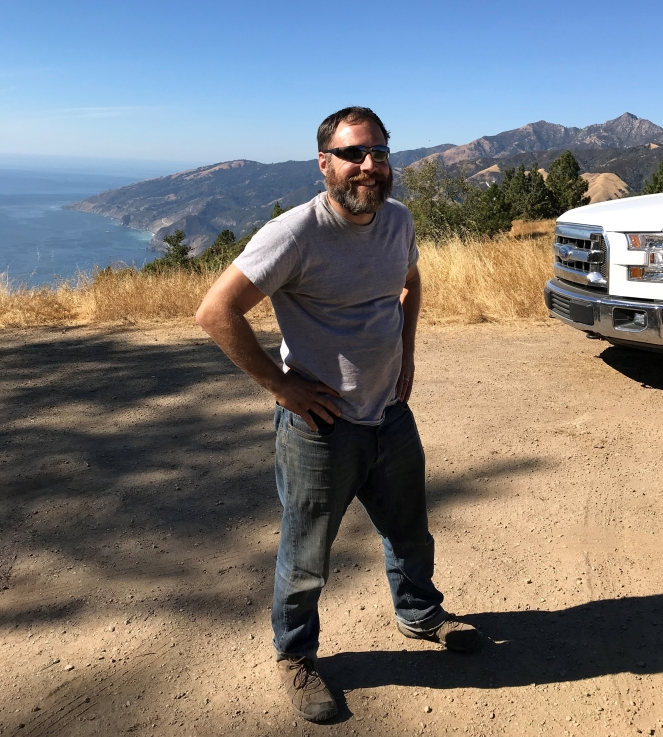 Scott Take Back Roads Big Sur Pacific Ocean campsite
