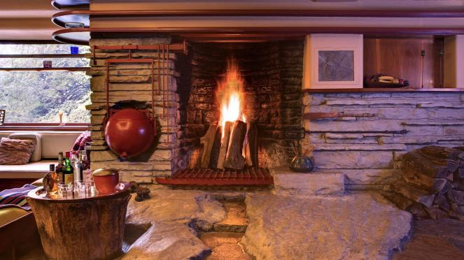 Fallingwater Hearth